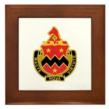 DUI - 3rd Bn - 16th FA Regt Framed Tile