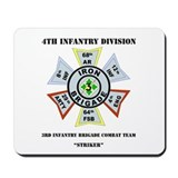 DUI - 3rd Infantry BCT - Striker with Text Mousepa