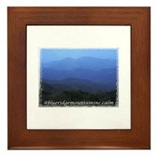 Blue Ridge Mountains NC Framed Tile