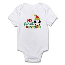 Penguin My 1st Christmas Infant Bodysuit