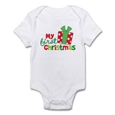Present My 1st Christmas Infant Bodysuit
