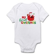 Santa My 1st Christmas Infant Bodysuit