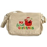 Santa My 1st Christmas Messenger Bag
