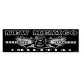 New Mexico Militia II Bumper Sticker