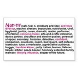 Definition of a Nanny Decal