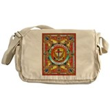 Cuban Art Cigar Label Messenger Bag