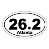 26.2 Atlanta marathon Decal