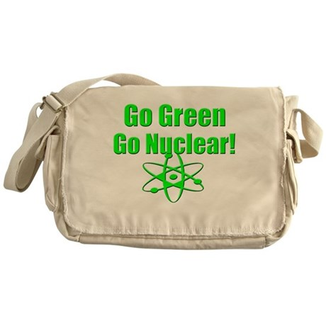 Go Green Messenger Bag