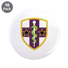 "SSI-ARMY RESERVE MEDICAL COMMAND 3.5"" Button (10 p"