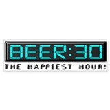 Cute Happy hour Bumper Sticker