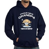 Proud New Grandpa Personalized Hoodie