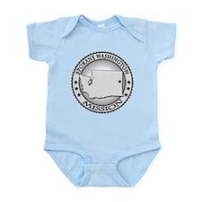 Spokane Washington Infant Bodysuit