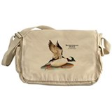 Bufflehead Duck Messenger Bag