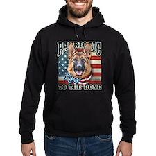 Patriotic - German Shepherd Hoodie