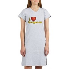 I Heart Tom Bergeron Women's Nightshirt
