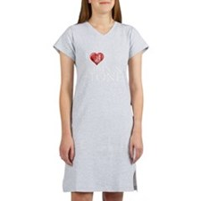 I Heart Robin & Stone Women's Nightshirt