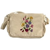 SWEET PEAS Messenger Bag