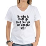 confusion Women's V-Neck T-Shirt