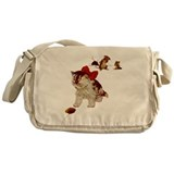 PLAYING CAT & MOUSE Messenger Bag