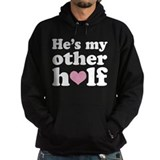 Couples He's My Other Half Hoodie