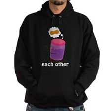 Couples Each Other Jelly Hoodie
