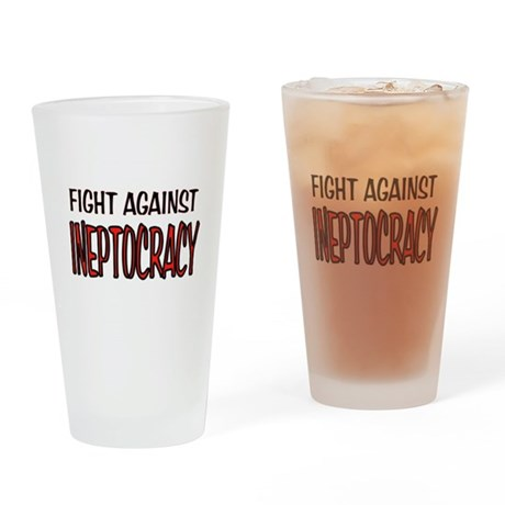 INEPT Drinking Glass