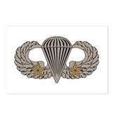 Combat Parachutist 2nd awd basic Postcards (Packag