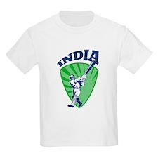 cricket batsman India T-Shirt