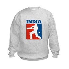 cricket batsman India Sweatshirt