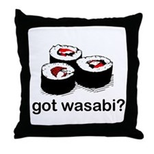 got wasabi? Throw Pillow