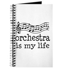 Orchestra is My Life Music Gift Journal
