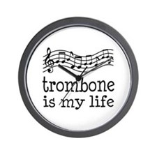 Trombone is My Life Music Gift Wall Clock