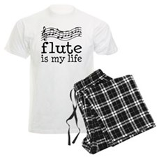 Flute is My Life Music Gift Men's Light Pajamas