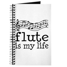Flute is My Life Music Gift Journal