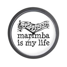 Marimba is My Life Music Gift Wall Clock