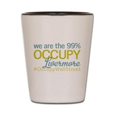 Occupy Livermore Shot Glass