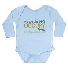 Occupy Lima Long Sleeve Infant Bodysuit