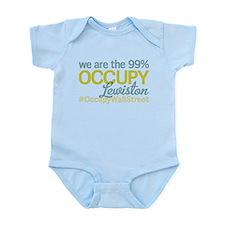 Occupy Lewiston Infant Bodysuit