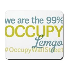 Occupy Lemgo Mousepad