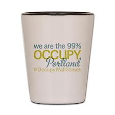 Occupy Portland Shot Glass