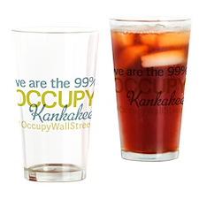 Occupy Kankakee Drinking Glass