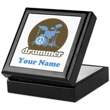 Personalized Drummer Keepsake Box
