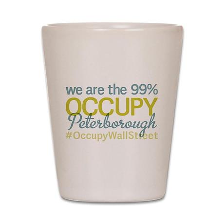 Occupy Peterborough Shot Glass