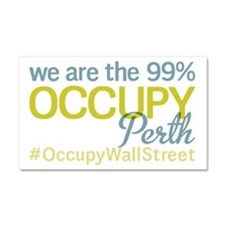 Occupy Perth Car Magnet 20 x 12