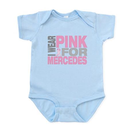 I wear pink for Mercedes Infant Bodysuit