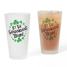Cute Guinness beer Drinking Glass