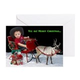 Yee Ha! Christmas Greeting Cards (Pk of 10)