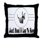 Hump Throw Pillow