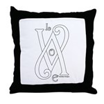 Love White Throw Pillow
