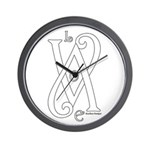 Love White Wall Clock